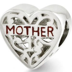 Sterling Silver Mother Bead