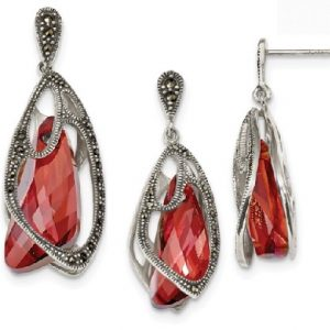 wqqp3968 and wqqp11131 Marcasite red