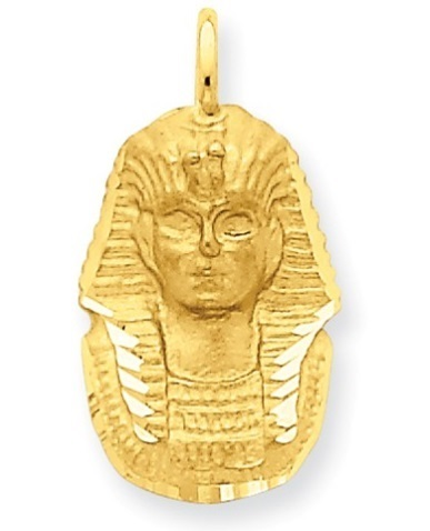 14k yellow gold king tut pendant waller company jewelers 14k yellow gold king tut pendant aloadofball Gallery